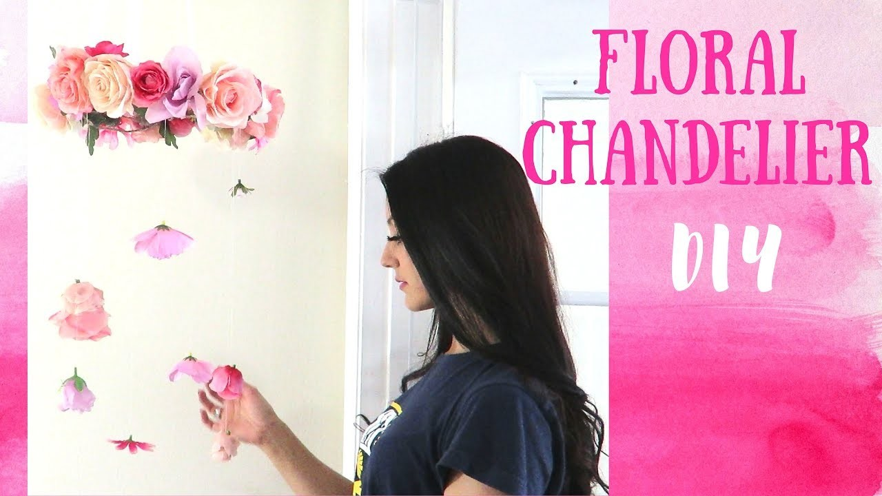 Flower Chandelier or Mobile DIY