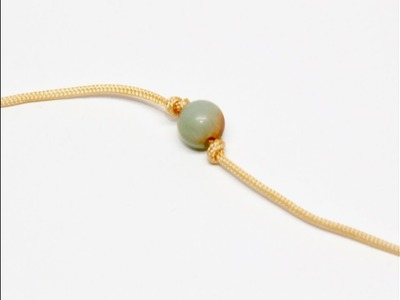 How to Knot Gemstone Beads