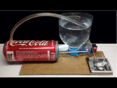 How to Make an Air Pump DIY- Air Compressor at Home