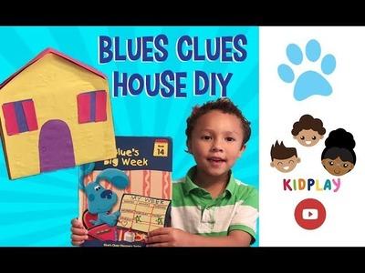How to make Blues Clues House Kidpl@y Easy Kid Craft DIY Part 1  KidplayTV