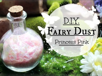 How to make Magical Fairy Dust: DIY Pink Fairydust Potion Tutorial #fairies
