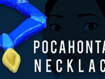 How to make the Pocahontas Necklace using foam