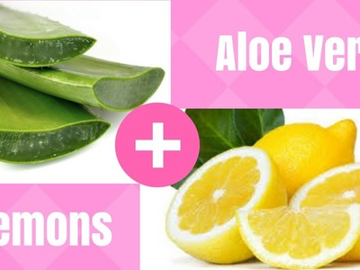 Psoriasis Treatment at Home [DIY With Aloe Vera & Lemons]