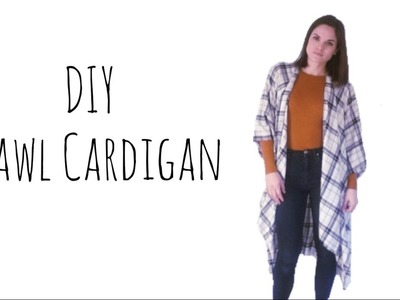 Sew with me | Shawl Cardigan