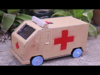 Wow! Amazing RC ambulance Car | how to make a mini ambulance car