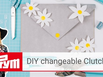 DIY clutch for all occasions with Liz   Prym Color Snaps