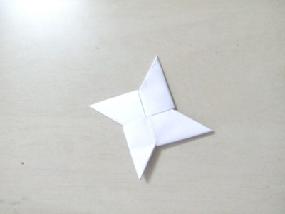 DIY: How to make ninja star  - Origami for Kids