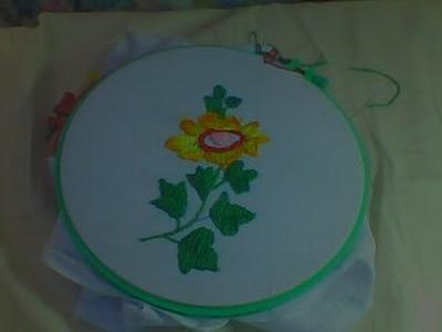 Hand ebroidery, Roumanian stitch, or Kashmiri stitch tutorial for begginers.