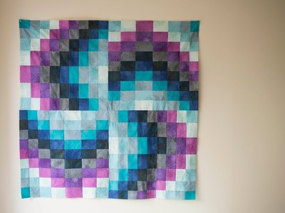 How to make a Bargello Block Quilt