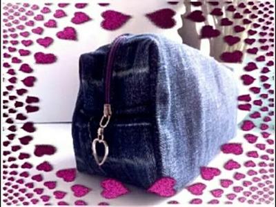 How to make diy jeans bag
