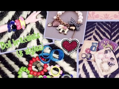 How to make doll bracelets(8 styles)-PART:1