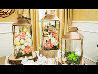 How To - Maria Provenzano's DIY Floral Lantern - Hallmark Channel