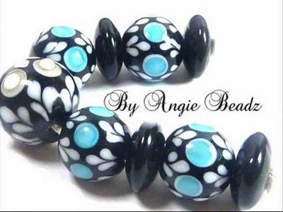 Lampwork beads- by Angie Beadz