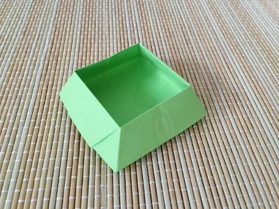 Origami : Trapezoid Box
