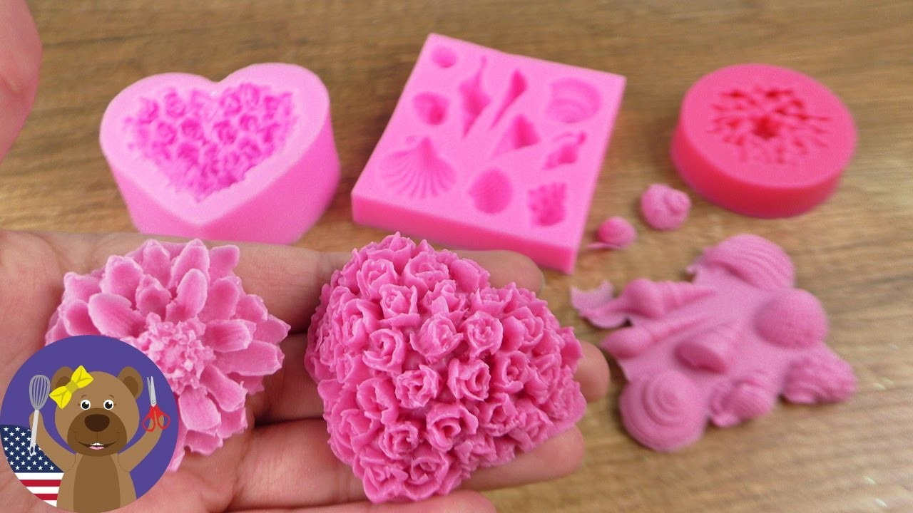 TESTING Silicone Moulds | Soap, Chocolate and so much more!