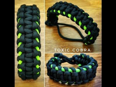 Toxic Cobra Knot Paracord bracelet
