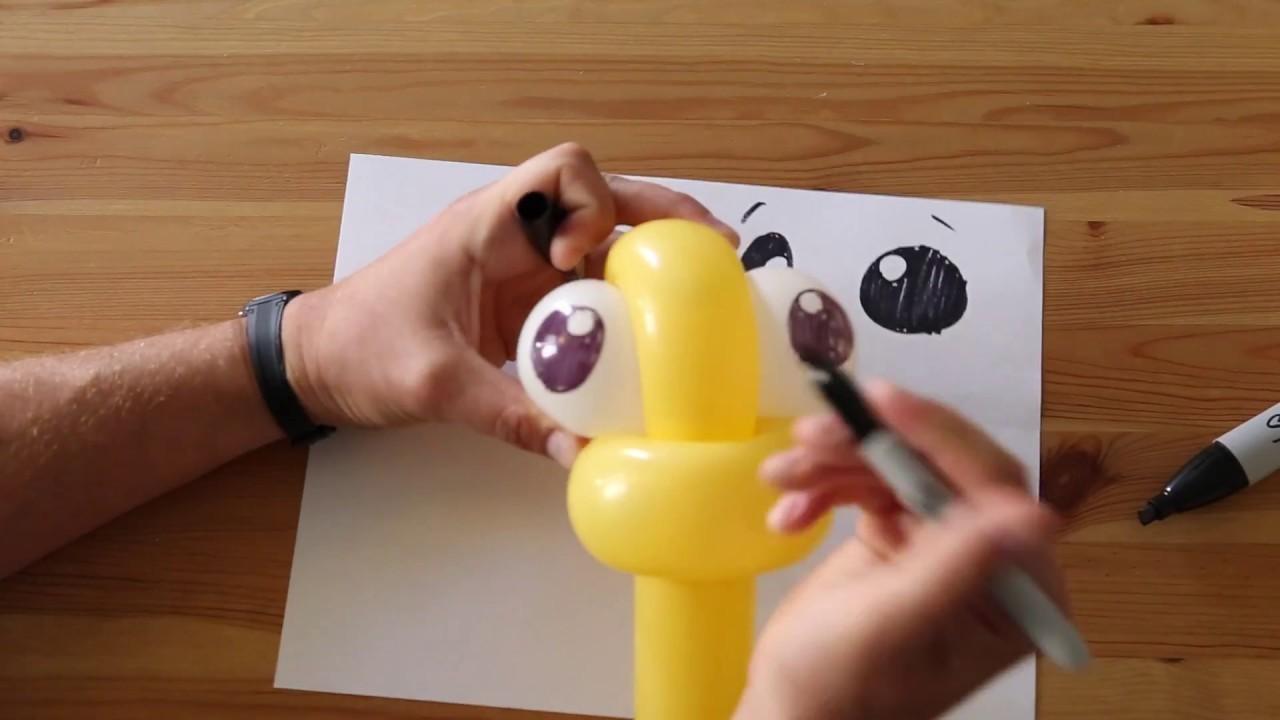 Advanced Balloons - How to Draw Faces - Balloon Artwork