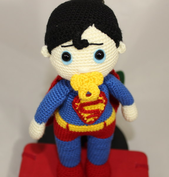 Amigurumi Patterns Beginner : Amigurumi Super Baby PDF Pattern Super Hero - Beginner ...