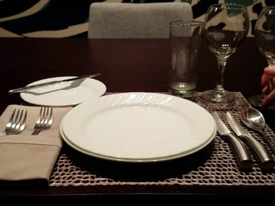 ???? ASMR | How to Properly Set Table & Etiquette Lesson | Whispered ????