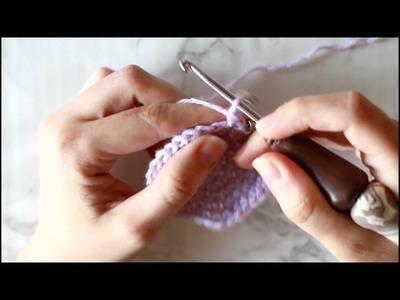 Basic Newborn to 3 month Crochet baby Hat (link to written pattern)