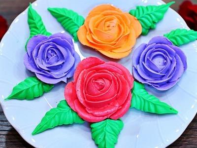Blossom Buttercream Roses - How to make Buttercream Roses