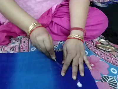 Cape top cutting using old dupatta.How To Cut And Sew Cape Top Using Old Dupatta {part 1)}