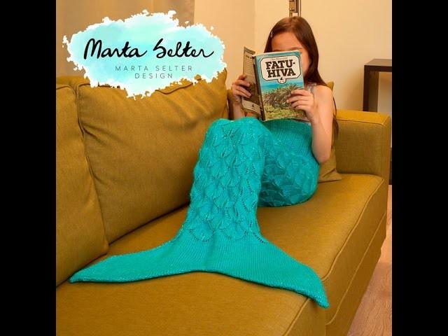 Children's Mermaid Tail Knitting Tutorial