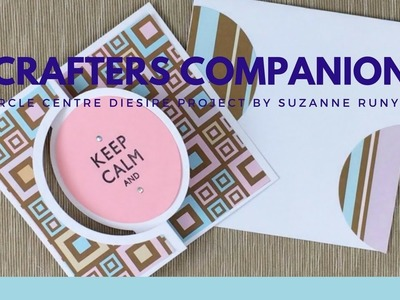 Crafters Companion Diesire Circle Center How To