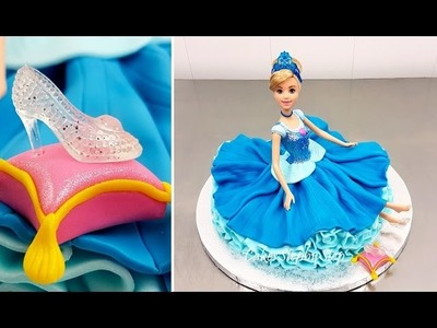 Disney Princess Cinderella Doll Cake How To Make by Cakes StepbyStep