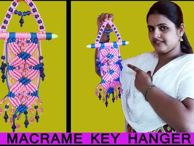 DIY How to Make Macrame Key Holder