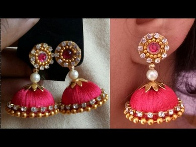 DIY | How to make silk thread jhumka