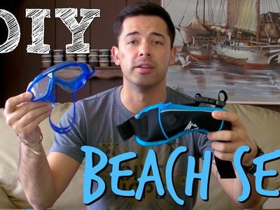 DIY Swim or Beach Set. How To Make Your Own Kit