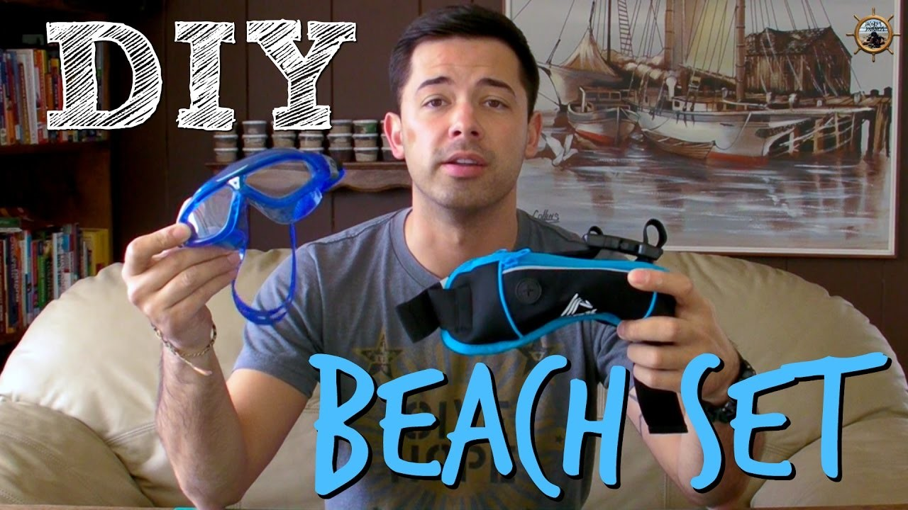 DIY Swim or Beach Set. How To Make Your Own Kit