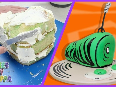 Dr Seuss - Green Eggs and Ham Cake (How To)