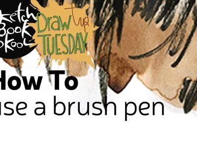 Draw Tip Tuesday - How To Use A Brush Pen