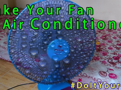 Homemade - How to Make Air Conditioner at Home ★ #EasyLifeHacks
