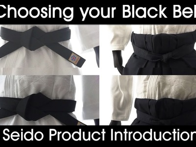 How To Choose your Black Belt [Aikido.Jujutsu] - Seido Product Introduction W.Subtitles