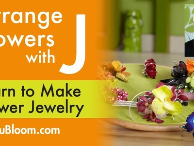 How to Create Flower Jewelry!