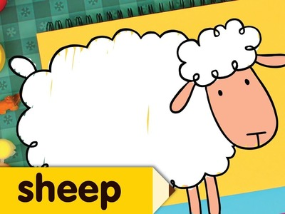 How To Draw A Sheep | Drawing & Coloring for Kids