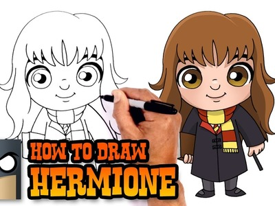 How to Draw Hermione | Harry Potter
