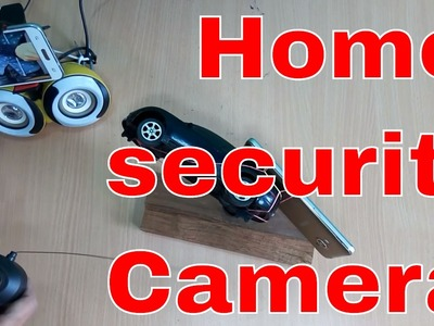 How To make a Cheap 360 Video camera Using Smartphone Wifi-Home Security Camera!make Your Home Safe!