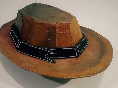 How to make a Classic CowBoy Hat from Cardboard | cardboard designs
