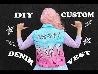 How to Make a Custom Denim Vest