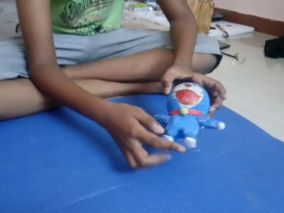 How to make a Doraemon action figure