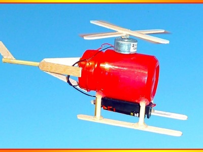 █ How to Make a Helicopter - Electric Helicopter █
