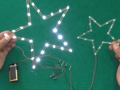 How to make a homemade led star