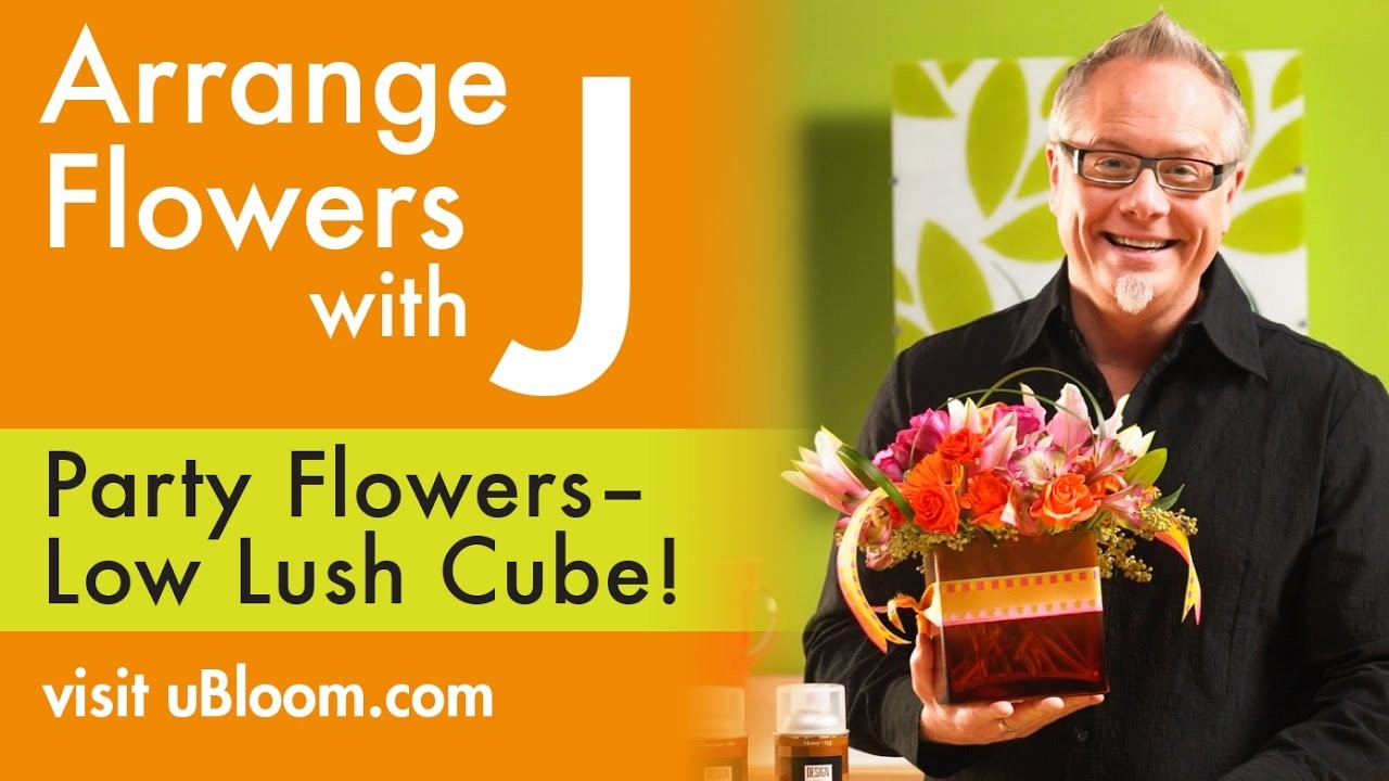 How to Make A Low Lush Cube Centerpiece!
