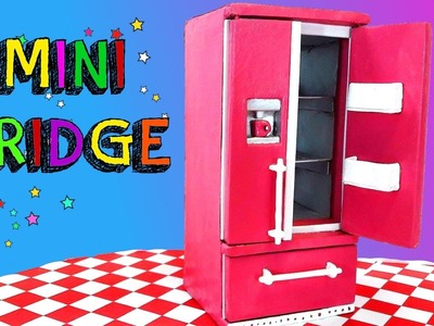 How to make a Mini Refrigerator (Low cost DIY)
