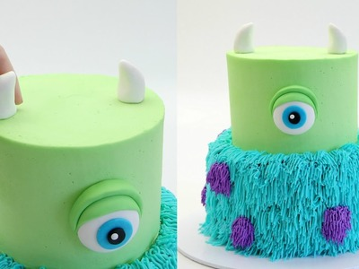 How To Make A MONSTERS INC. Cake - CAKE STYLE
