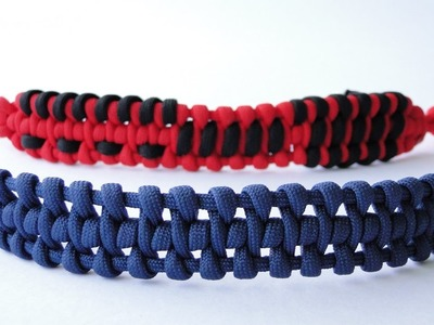 "How to Make a ""Mystique""-Design Shifting-Hundred Design Paracord Survival Bracelet-CbyS"
